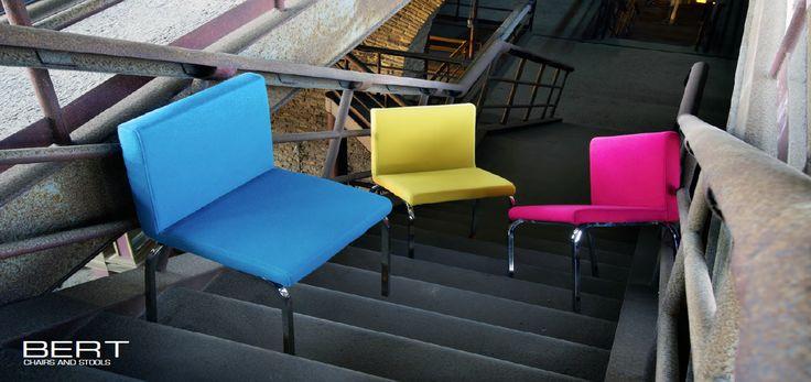 BERT chairs by Domingo