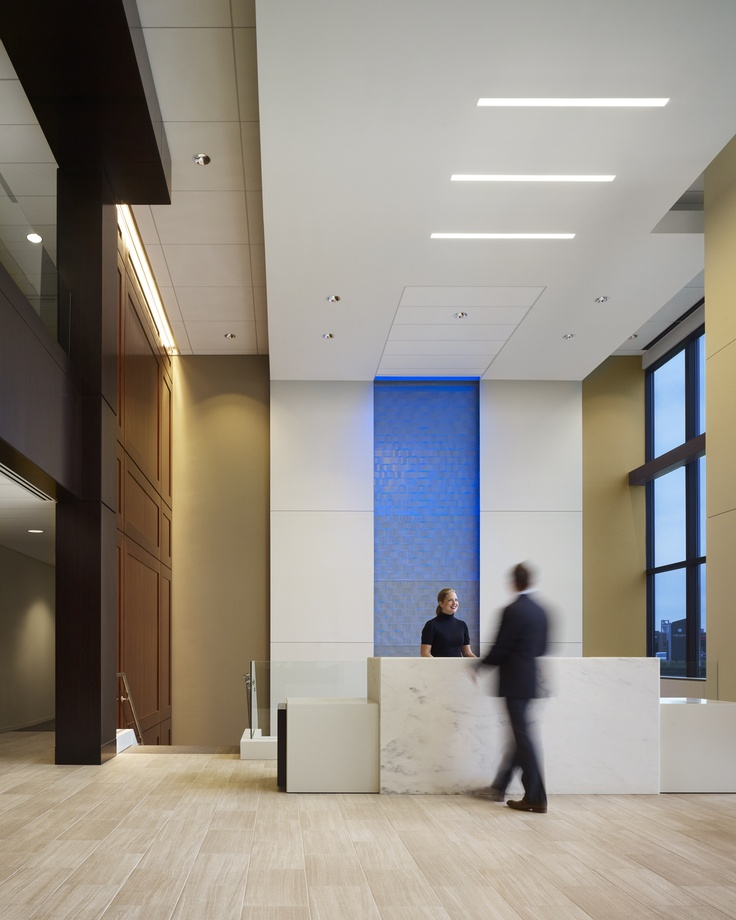 23 best images about brookhollow towers inspiration on for Office lobby design