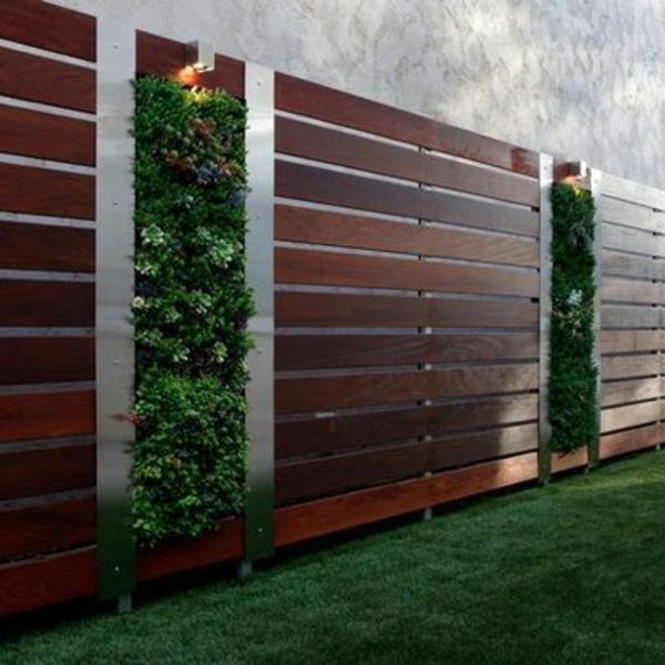 Emejing Gartenzaun Blickdicht Metall Photos - Home Design Ideas ...