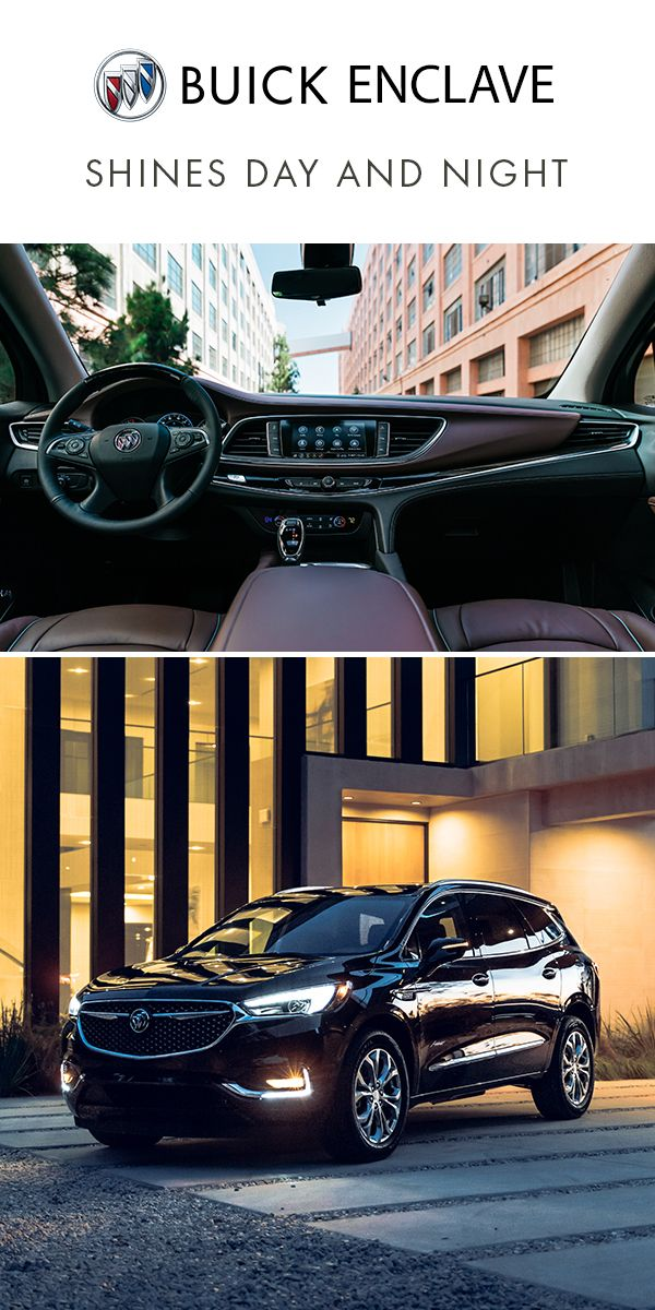 The Crafted Interior And Sleek Exterior Styling Of Buick Enclave