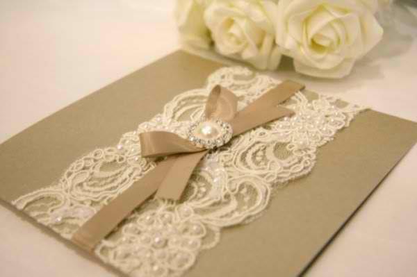 buena idea para las invitaciones de boda