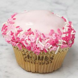 how to make breast cancer cupcakes