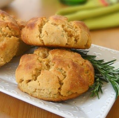 Bread with Rosemary & Garlic gfcf, grain-free, gluten-free