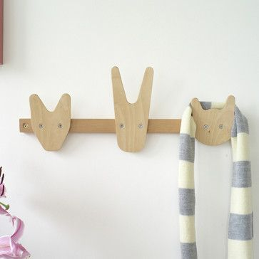 Animals of Whittling Wood by All Lovely Stuff contemporary nursery decor