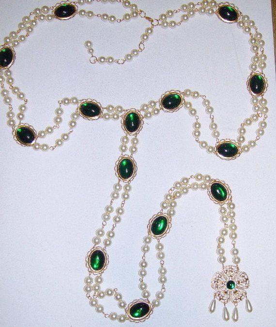 Renaissance Jewelry, Renaissance Girdle, Renaissance Belt