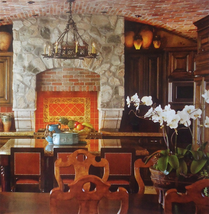 1000 ideas about hacienda kitchen on pinterest spanish for Mexican dining room ideas