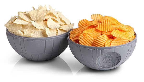 Star Wars Death Star Chip & Dip Bowls Bring Balance To The Snacks -  #deathstar #snacks #starwars