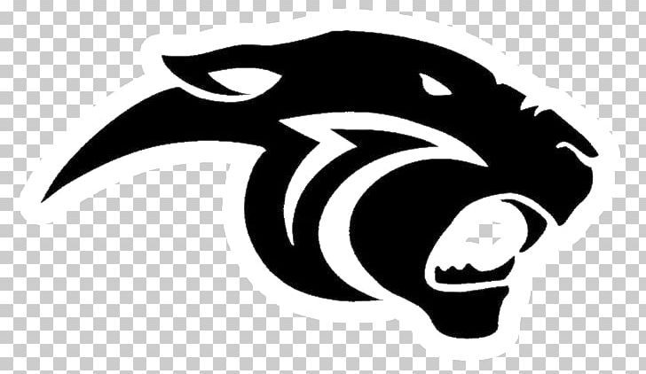 Thonon Black Panthers Logo Png Black And White Black Panther Blak Carnivoran Clip Art Panther Logo Black Panther Senior Night Posters