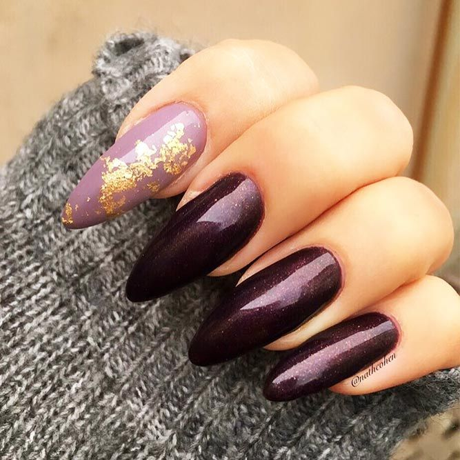 18 Acrylic Nails Ideas that You Can't Pass by ★ Almond Shape Acrylic Nails for Casual Look Picture 2 ★ See more: http://glaminati.com/acrylic-nails/ #acrylicnails #nailsdesigns