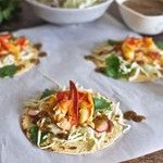 Lobster Tacos with Toasted Ancho Salsa up on www.holajalapeno.com right now!!