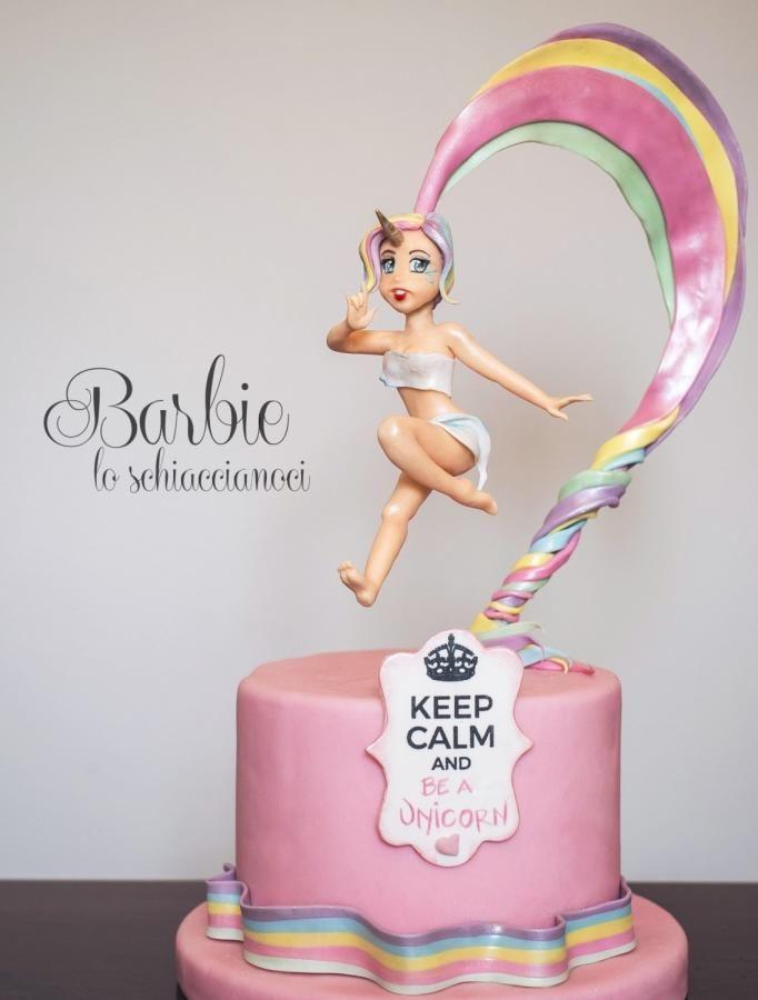 Lady Unicorn by Barbie lo schiaccianoci (Barbara Regini)