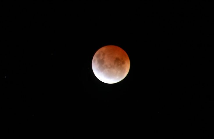 The lunar eclipse of 4 April 2015 seen over Nannup. #bloodmoon #nannup  #nannuprealestate #naturallynannup