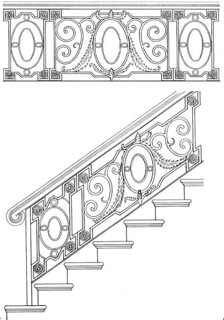 Wrought Iron Stair Designs Hand Forged In America Since 1913