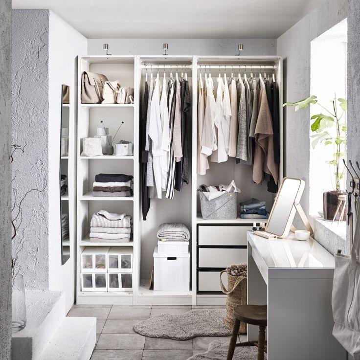 25+ beste ideeën over ikea slaapkamer wit, alleen op pinterest, Deco ideeën