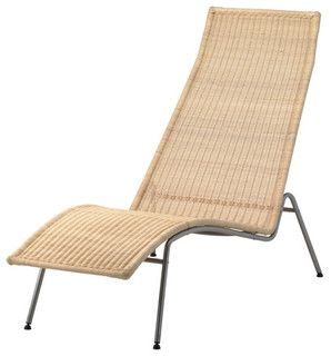 KNUTSTORP Chaise lounge - Modern - Outdoor Chaise Lounges - by IKEA