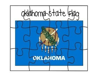 This is an Oklahoma flag puzzle.
