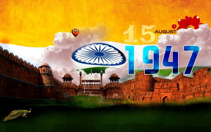 15 August 1947 Independence Day Wallpaper - DreamLoveWallpapers