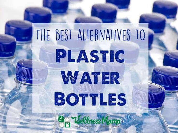 Plastic causes health and ecological problems and disrupts hormones. Find out the best alternatives to plastic water bottles.