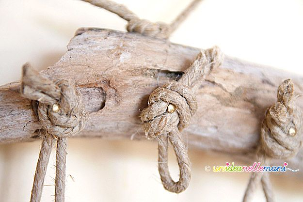 Creare con i legni levigati dal mare  Legni di mare  Pinterest  Tes and Fa...