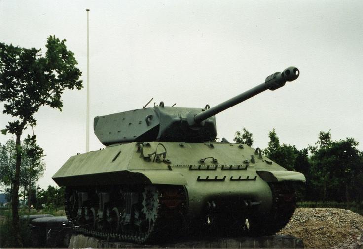 M10 Tank Destroyer at the Canada War Museum in Adegem, Belgium