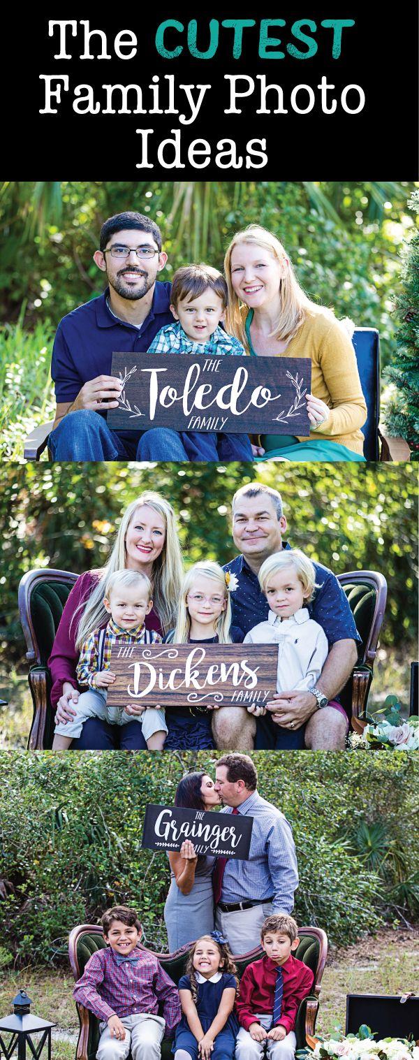 The cutest ideas for your family photo card! www.ZCreateDesign.com