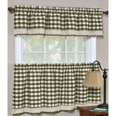 17 Best ideas about Gingham Curtains on Pinterest | Family room ...