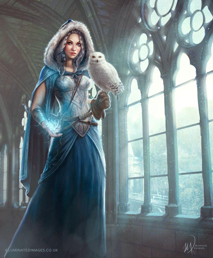 Atevora OC commission for Runenwinter by me-illuminated on deviantART