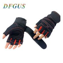 Fitness Weight Lifting Gloves Power Luvas Fitness Academia Anti-skid Guantes Protective Crossfit Sports gloves gym guantes //Price: $US $4.73 & FREE Shipping //