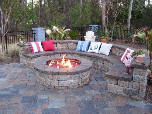 Patio Fire Pit Design, Pictures, Remodel, Decor and Ideas