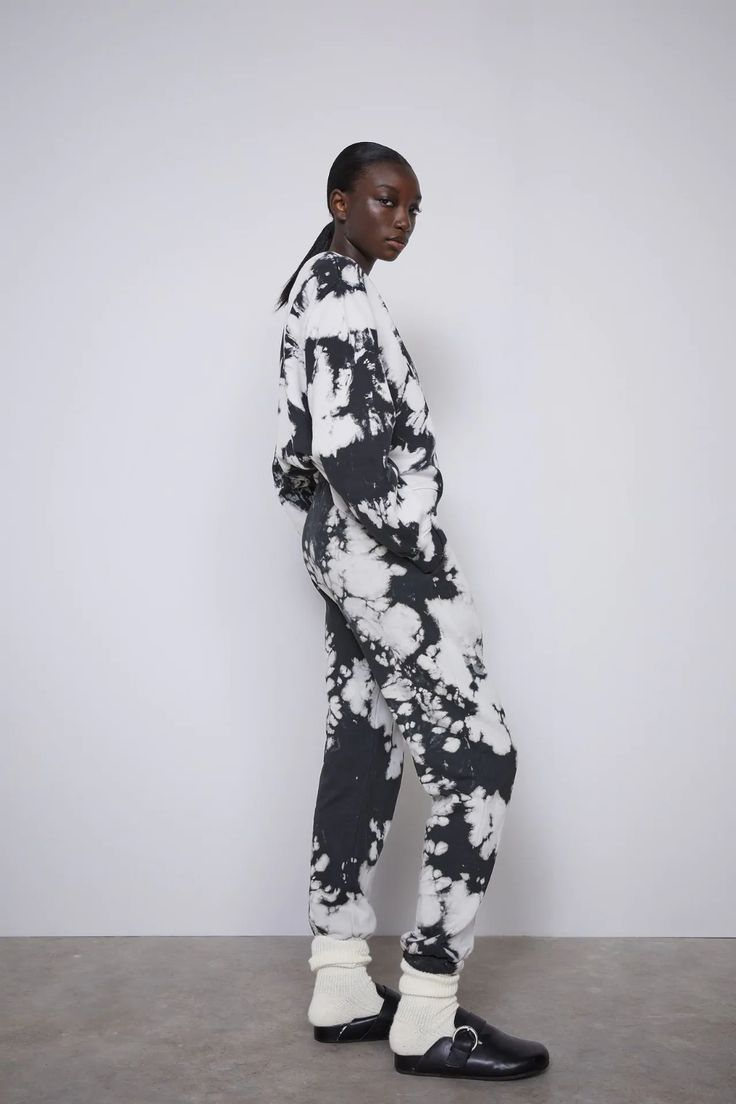 Tie Dye Jogger Pants Zara Canada Tie Dye Sweatshirt Clothing Brand Jogger Pants [ 1104 x 736 Pixel ]