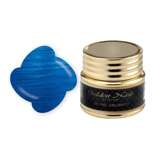 COLOR GEL 60 METALLIC BLUE - cod. GO0016/60, Ricostruzione gel - Boutique del Capello