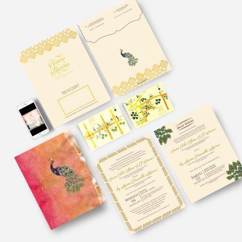 Foto undangan pernikahan oleh Raffi Asyraf
