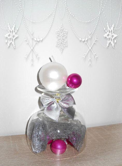 Perełki w słowach i przedmiotach. Świąteczne świeczniki w wersji naczyniowej :) http://diy-perelkiw.blogspot.com/