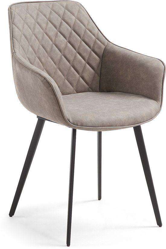 Eettafel Stoelen Bruin.Bol Com Laforma Aminy Armstoel Bruin Furniture In 2019
