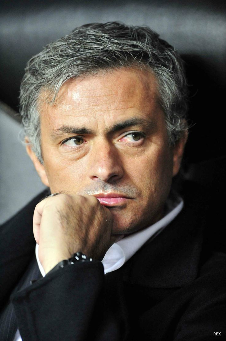 Jose Mourinho might impress on the sidelines with his managerial prowess, but he's also turned heads with his looks too.
