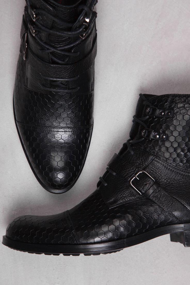 Conhpol A/W 16/17 #pattern #boots #3d #lightweight #shoes #winter #men