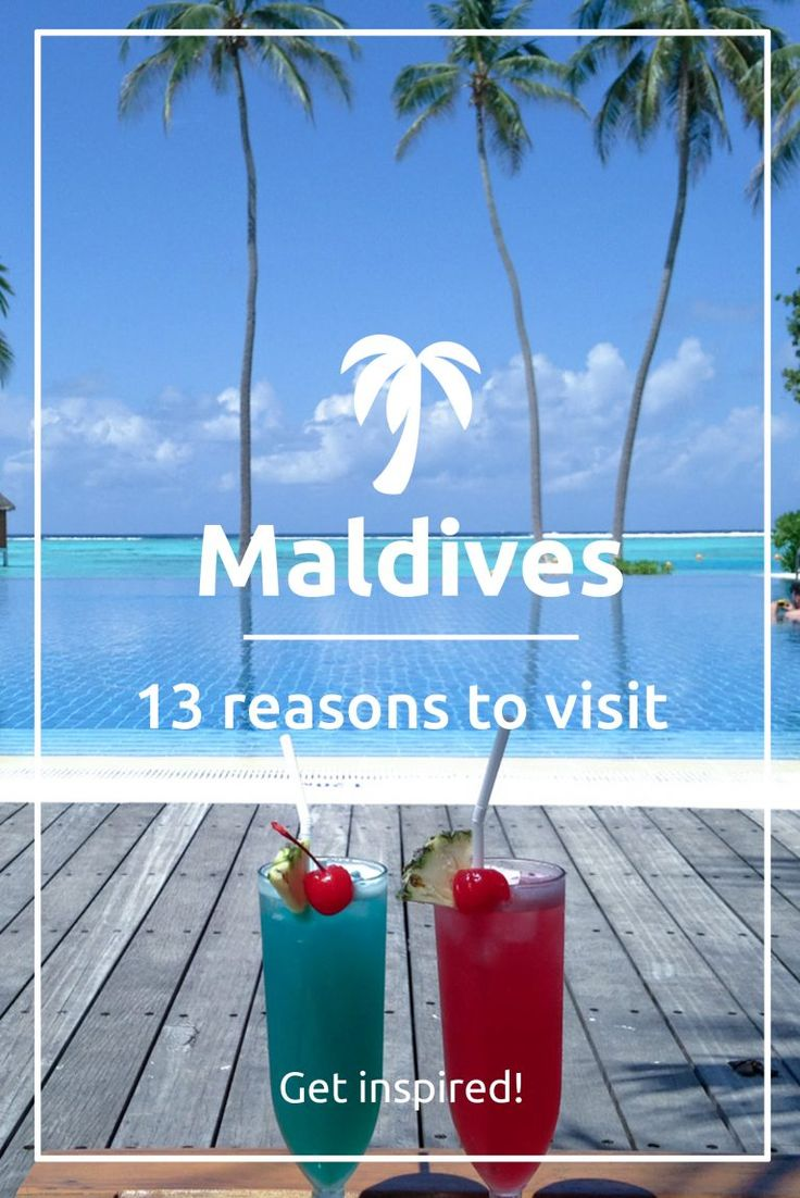 The Maldives are some of the most beautiful group of islands in the world. There are 26 atolls which make up this beautiful, country.