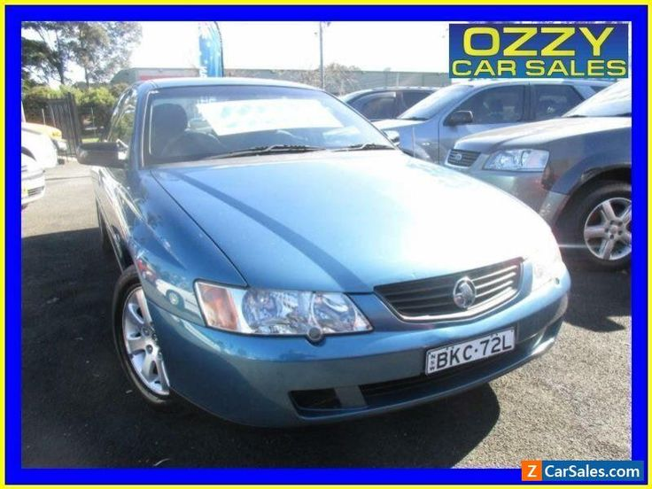 2003 holden commodore vy ii executive blue automatic 4sp a