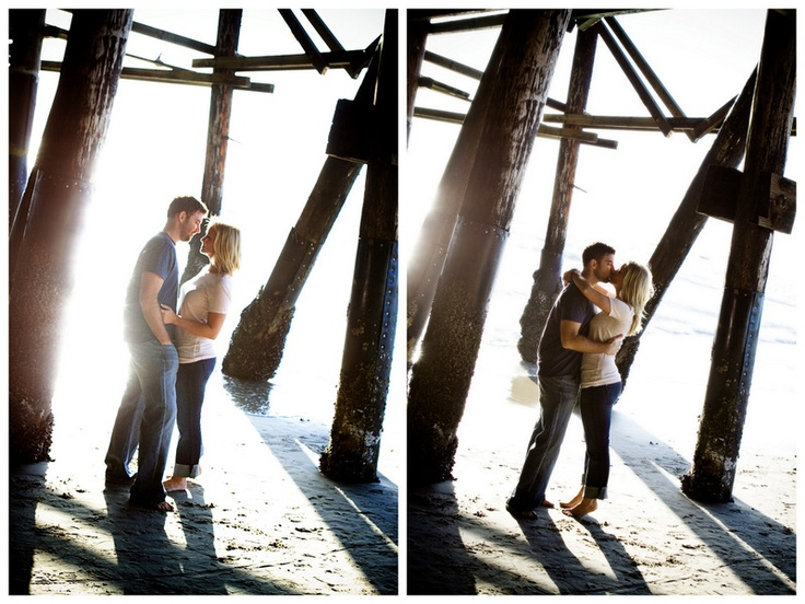 Oh Lovely Day™: {Real Engagement} Chandra & Jonathan: Modern Portraits + Fun at the Beach, Plus 5 Tips For a Great Engagement Session