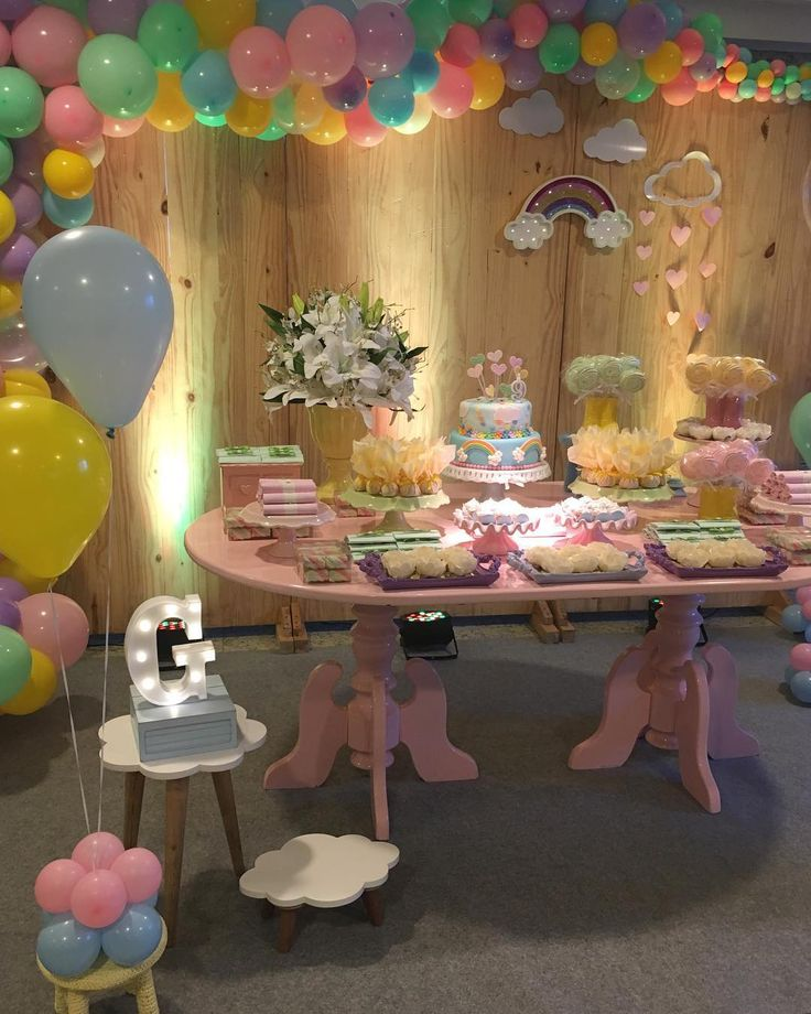 """LocGlam on Instagram: """"Festa afetiva para comemorar os 9 Aninhos da princesa Giovanna. Teve mesinha repleta de amor para celebrar essa data tão especial!…"""""""