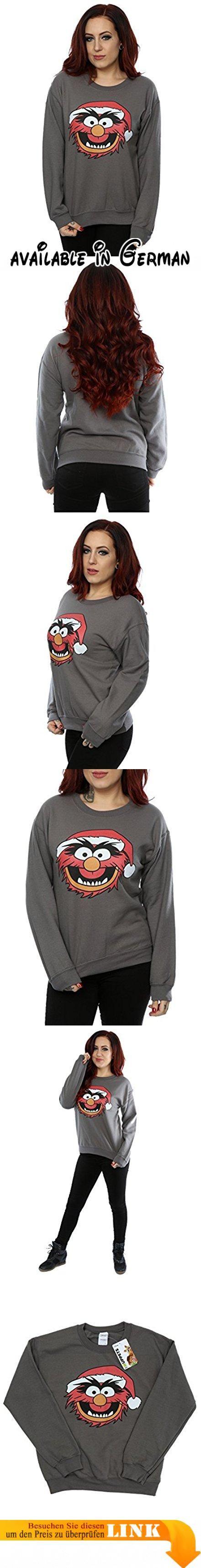 Disney Damen The Muppets Animal Christmas Sweatshirt X-Small Licht Graphite. Offiziell lizenzierte Waren mit allen autorisierten Lizenzgeber Branding, Verpackung und Kennzeichnung. 240gsm leichtes Kleidungsstück perfekt für den Sommer oder tragen das ganze Jahr über.. Leichtes unbrushed Vlies, Raglanärmel und geformter Seitennähte für eine feminine Form.. Bitte überprüfen Sie Ihre Dimensionierung Enttäuschungen zu vermeiden. Unsere Größe X-Small ist das Äquivalent
