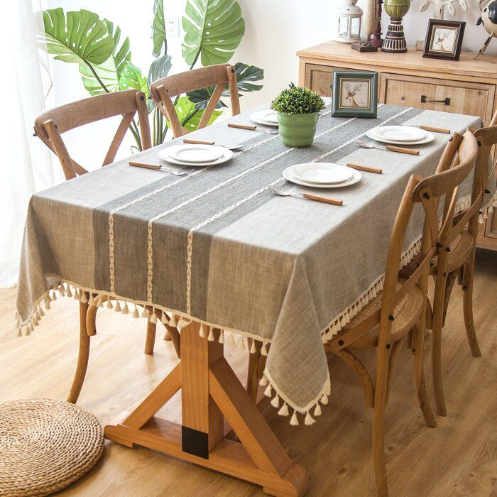 Dunbar Elegant Rectangle Tablecloth Table Cloth Rectangle Table