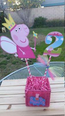 Centros de Mesa de Peppa Pig ¡Hermosas Ideas!