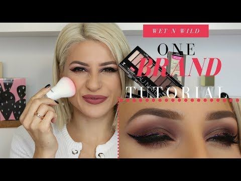 ONE BRAND MAKEUP TUTORIAL: WET N WILD COSMETICS || GIO DREVELI || http://makeup-project.ru/2017/11/19/one-brand-makeup-tutorial-wet-n-wild-cosmetics-gio-dreveli/