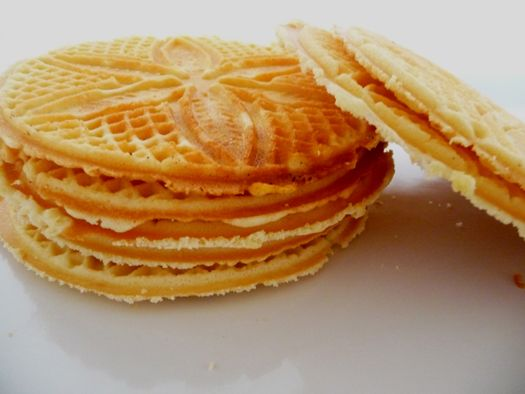 Pizzelles! My gramma makes the best ones. I may have to try again to make...