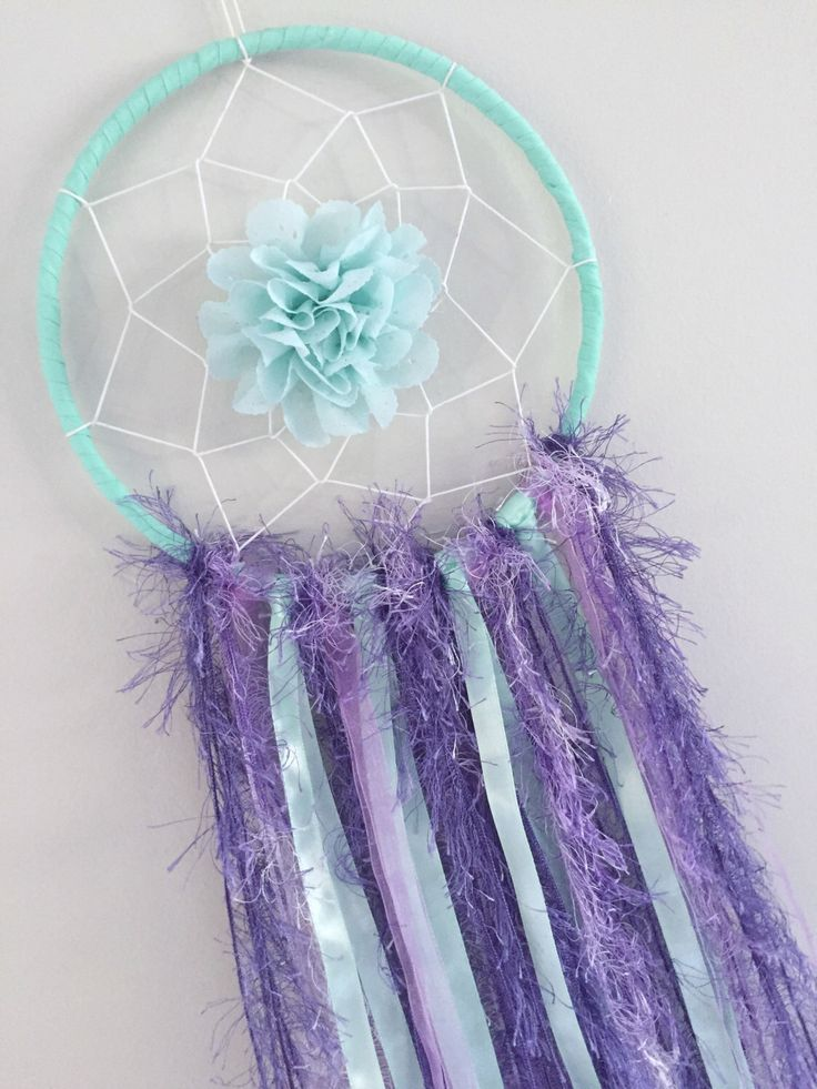 A personal favourite from my Etsy shop https://www.etsy.com/au/listing/501174634/dreamcatcher-purple-mint-bedroom