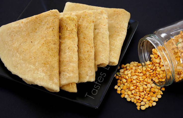 Trini Dhal Puri Roti this roti is traditional made for special occasions.