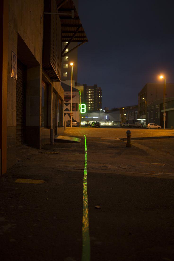 Way finder to 8 Morrison Street, Rivertown
