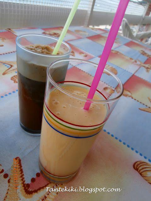 Tante Kiki: Γιαουρτοποτό - smoothie με ροδάκινο και...καθένας ...