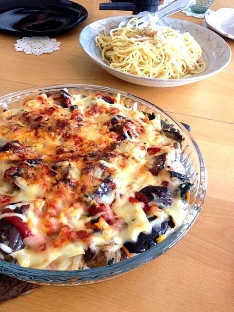 お昼ご飯。野菜た~っぷりドリア♪ - 17件のもぐもぐ - ドリア&カルボナーラ by ekianti